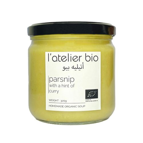 ORGANIC PARSNIP WITH A HINT OF CURRY (6 Jars)