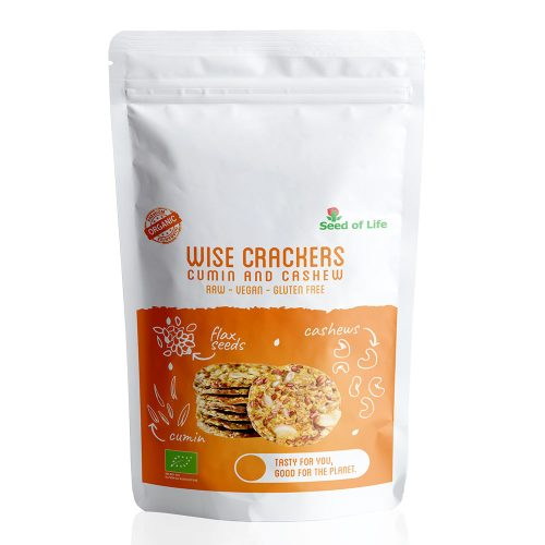 Wise Crackers - Cumin and Cashew (50g)